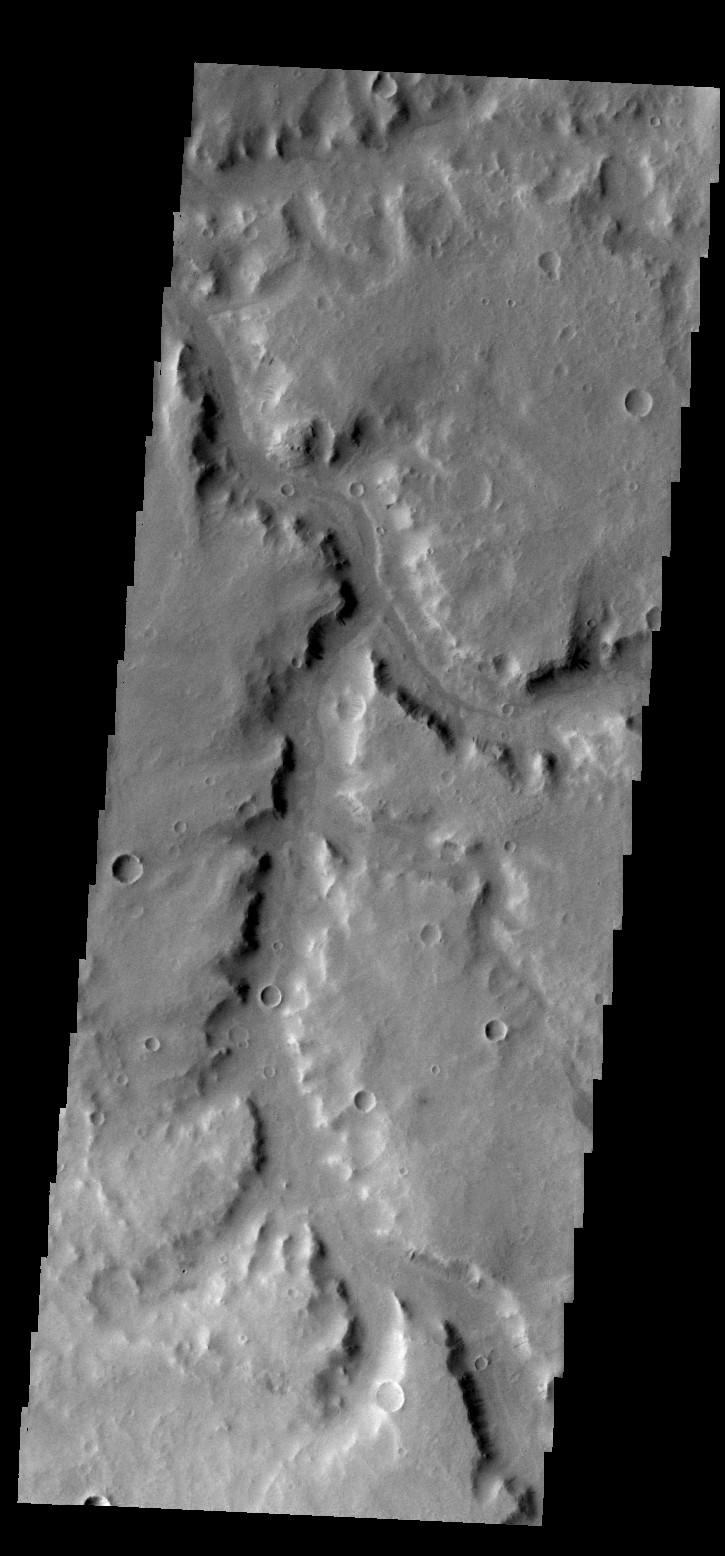 Naktong Vallis | Mars Odyssey Mission THEMIS
