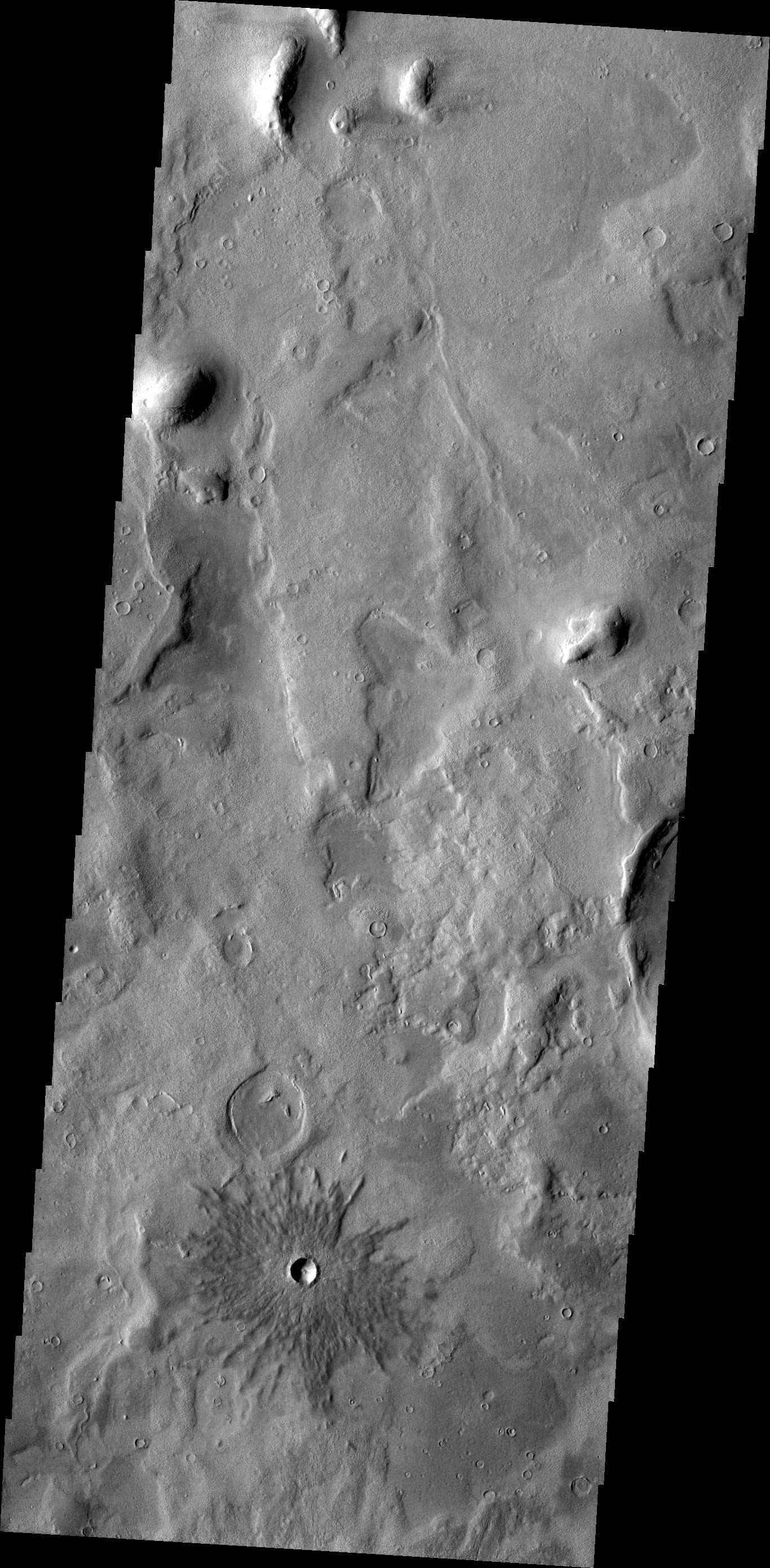 Crater | Mars Odyssey Mission THEMIS