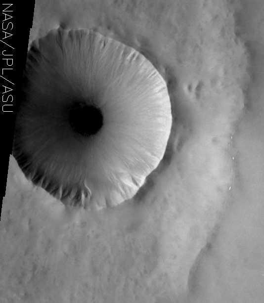 THÉMIS -  Le spectro-imageur de Mars Odyssey ( 2001) Eyeball