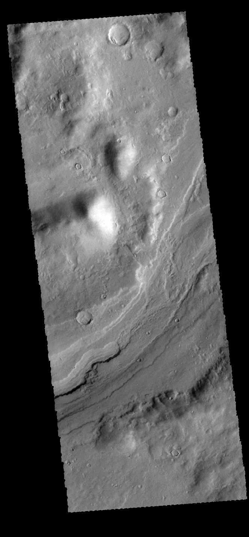 Reull Vallis | Mars Odyssey Mission THEMIS