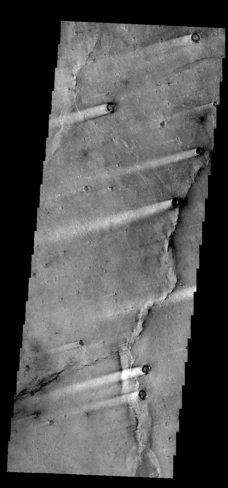 Syrtis Major Windstreaks | Mars Odyssey Mission THEMIS