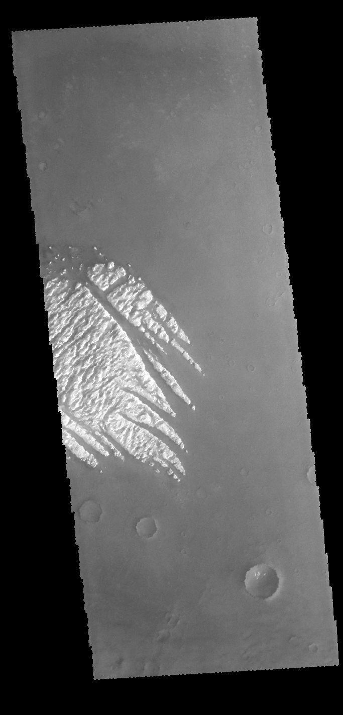 Pollack Crater | Mars Odyssey Mission THEMIS